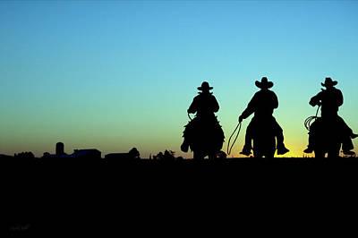 Ride 'em Cowboy Poster by Andrea Kollo