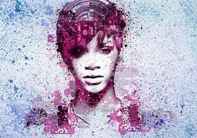 Rihanna 8 Poster