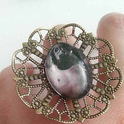 #ring #cammeo #steampunk #jewelry Poster