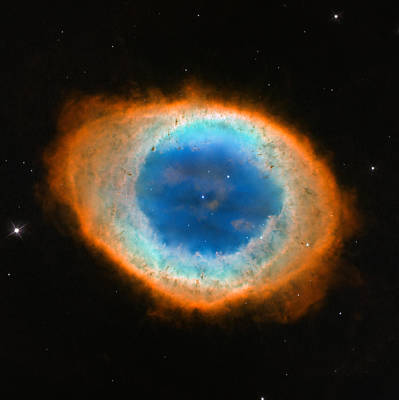 Ring Nebula Poster by Celestial Images