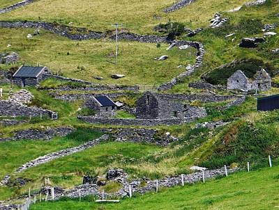 Ring Of Kerry Irish Stone Poster