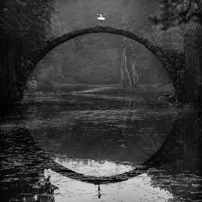 Ring Poster by ?ukasz Koz?owski