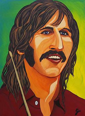 Ringo Star    Stick Poster