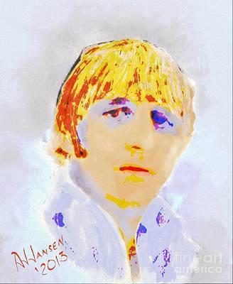Ringo Starr Poster by Arne Hansen