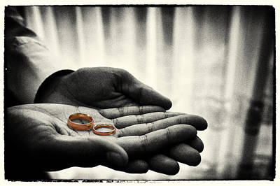 Rings Of Love Poster by Richard Allen