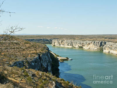 Poster featuring the photograph Rio Grande by Erika Weber