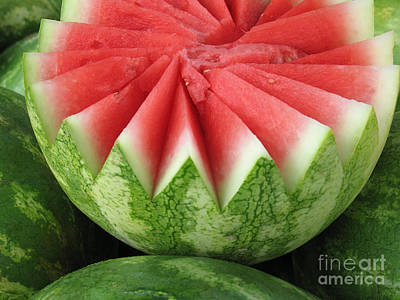 Ripe Watermelon Poster