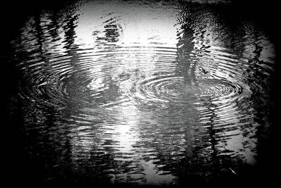 Poster featuring the photograph Ripples by Michael Dohnalek