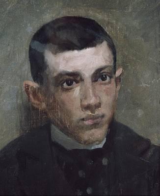 Riu I Doria, Ramon 1874-1907. Portrait Poster