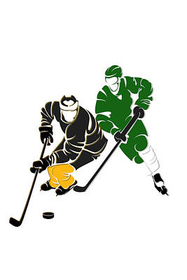 Rivalries Bruins And Whalers Poster
