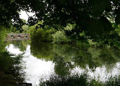 River And Bridge Poster