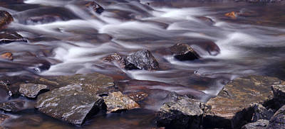 River Flows 2 Poster by Mike McGlothlen