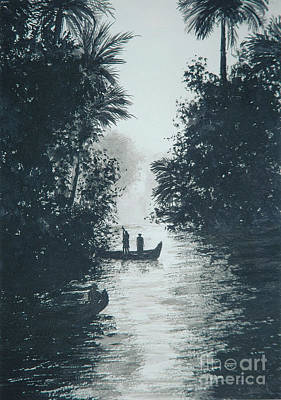 River In The Jungle  Poster by Pierre Huard