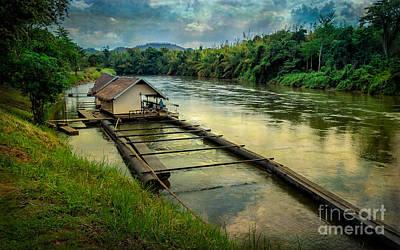 River Kwai Kanchanaburi  Poster
