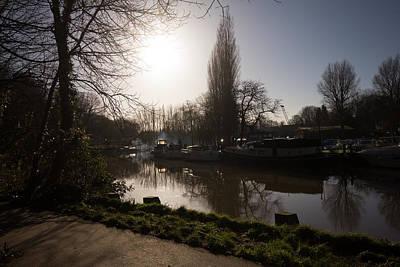 River Medway In Kent Poster