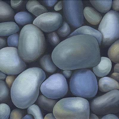 River Rocks Poster by Natasha Denger