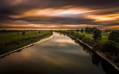 River Sava Poster