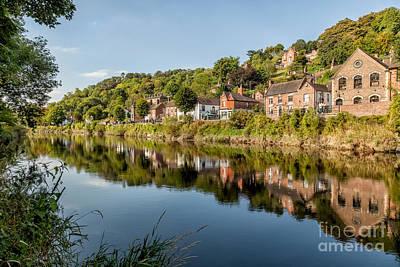 River Severn Ironbridge Poster by Adrian Evans