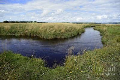 River Teifi At Cors Caron Bog Poster by Sinclair Stammers