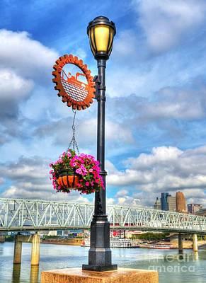 Riverboat Lamp Poster