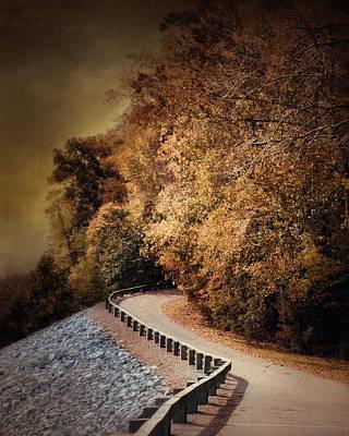 Riverside Drive In Autumn - Landscape Poster by Jai Johnson