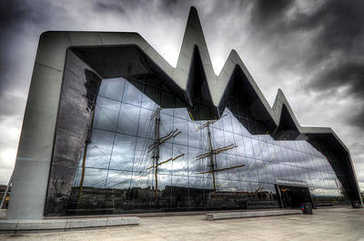 Riverside Museum Poster by Ross G Strachan