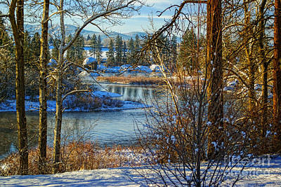 Riverview II Poster by Beve Brown-Clark Photography