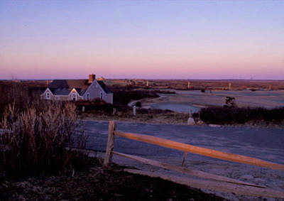 Road Out To Brandt Point Nantucket Poster by Joy McKenzie