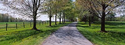 Road Passing Through A Farm, Knox Farm Poster