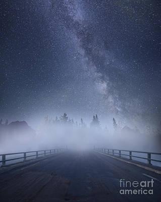 Road To Heaven Poster by Dan Jurak