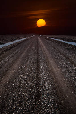 Road To The Sun Poster by Aaron J Groen