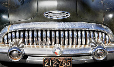1953 Buick Skylark Road Warrior Poster by Rich Franco
