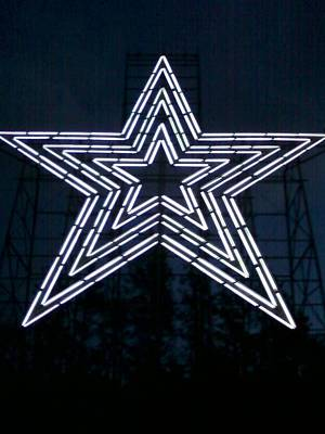 Roanoke Star By Angelia Clay Poster by Angelia Hodges Clay
