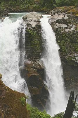 Roaring Falls Poster by Jim Gillen