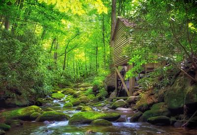 Roaring Fork Mill Poster by Carolyn Derstine