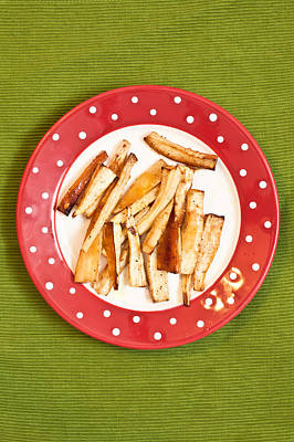 Roast Parsnips Poster by Tom Gowanlock