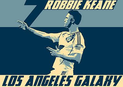 Robbie Keane Poster by Taylan Apukovska