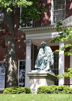 Robert Brooke Taney Statue - Maryland State House  Poster by Christiane Schulze Art And Photography