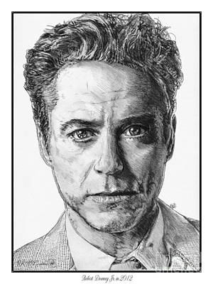 Robert Downey Jr In 2012 Poster by J McCombie