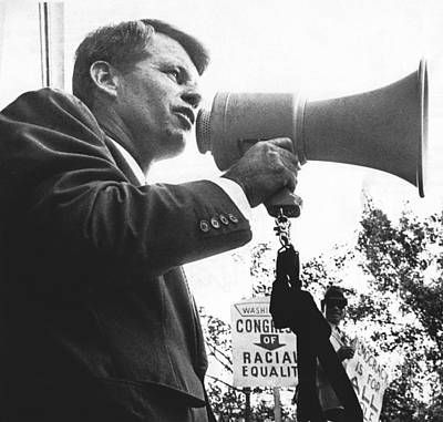 Robert Kennedy Poster by Underwood Archives