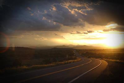 Robert Melvin - Fine Art Photography - Arizona Sunset Poster
