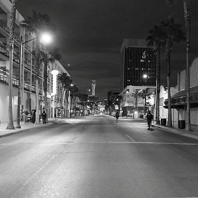 Robert Melvin - Fine Art Photography - Sin City - No Homeless Allowed Poster