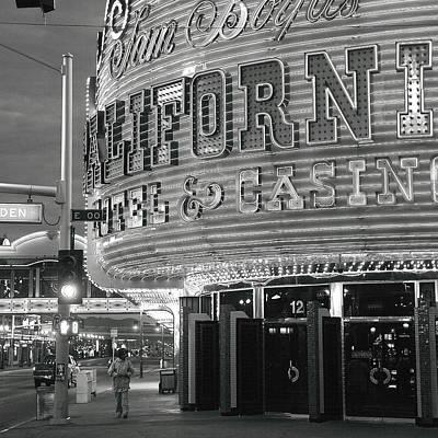 Robert Melvin - Fine Art Photography - Sin City - The Californian Poster