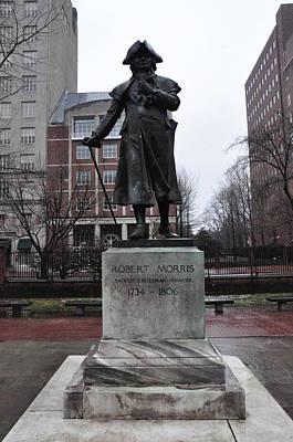 Robert Morris Financier Of The American Revolution Poster by Bill Cannon