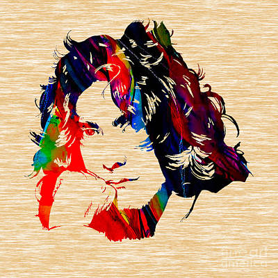 Robert Plant Collection Poster by Marvin Blaine