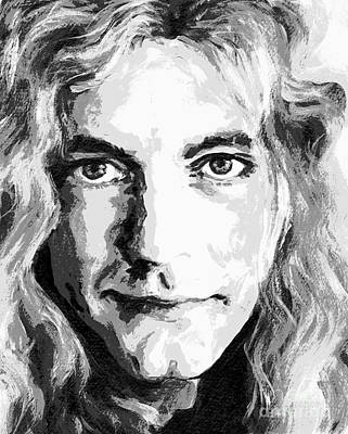 Robert Plant - Still The Best Poster by Tanya Filichkin