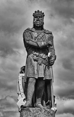 Robert The Bruce Poster by Eunice Gibb