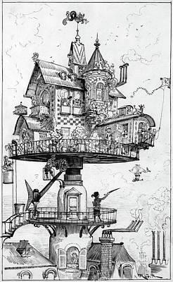 Robida Dwellings Poster