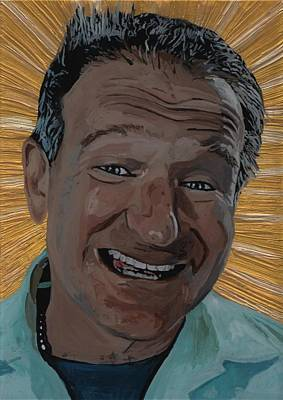 Robin Williams Poster by David Moriarty