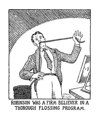 Robinson Was A Firm Believer In A Thorough Poster